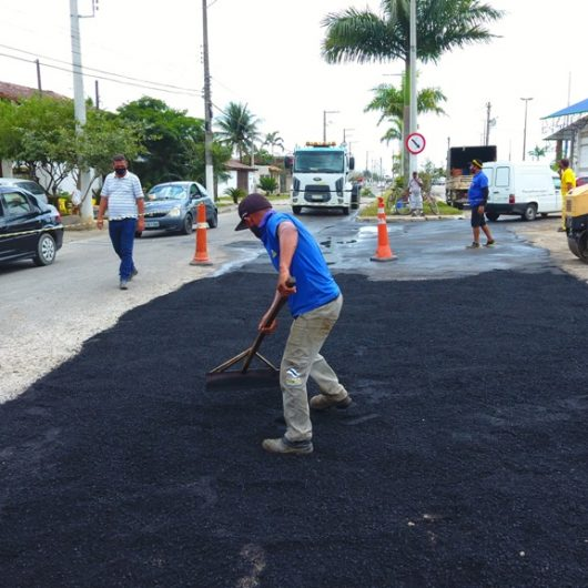 Prefeitura de Caraguatatuba continua com operação tapa-buraco na Região Sul