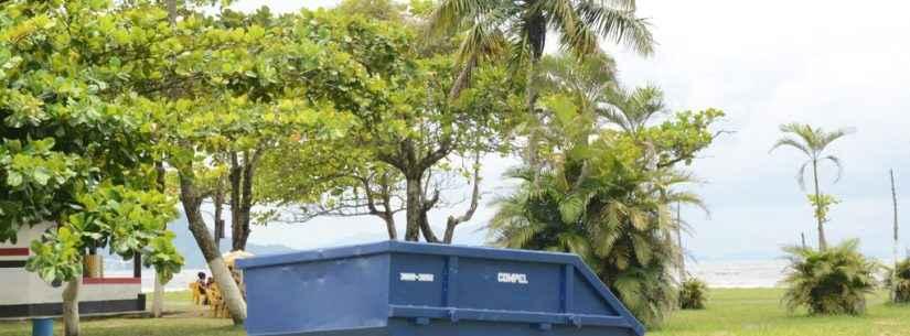 Prefeitura de Caraguatatuba aumenta números de caçambas de lixos pelo município