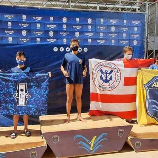 Atleta de Caraguatatuba conquista duas medalhas em Campeonato Paulista de natação
