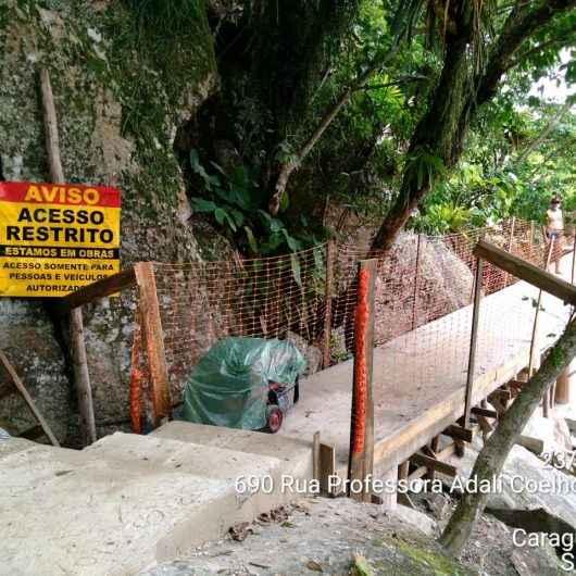 Trilhas da Freira e do Jacaré recebem sinalização e obras de revitalização são interrompidas até o Ano Novo