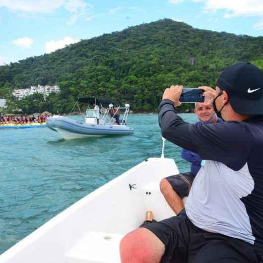 Prefeitura de Caraguatatuba reforça fiscalização de atividades náuticas