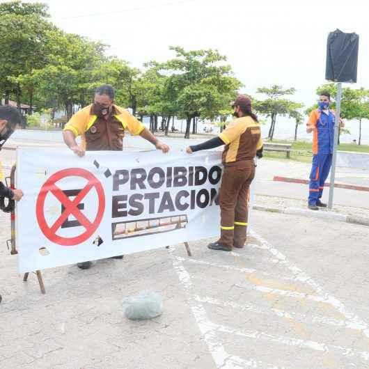 Estacionamentos próximos às praias estão proibidos em Caraguatatuba