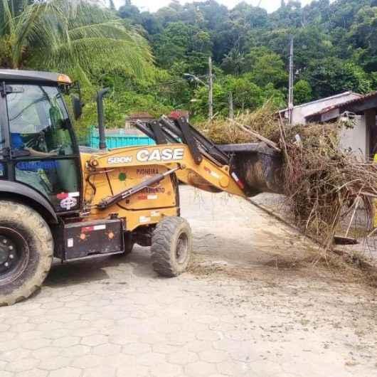 Bairros Pegorelli, Porto Novo, Massaguaçu, Gaivotas e Estrela D'alva recebem manutenção