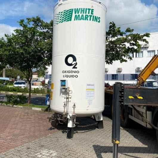UPA Covid-19 ganha 30 concentradores de oxigênio para tratamento de pacientes
