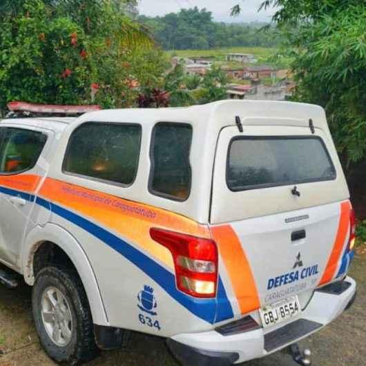 Chuvas deixam Caraguatatuba em estado de atenção