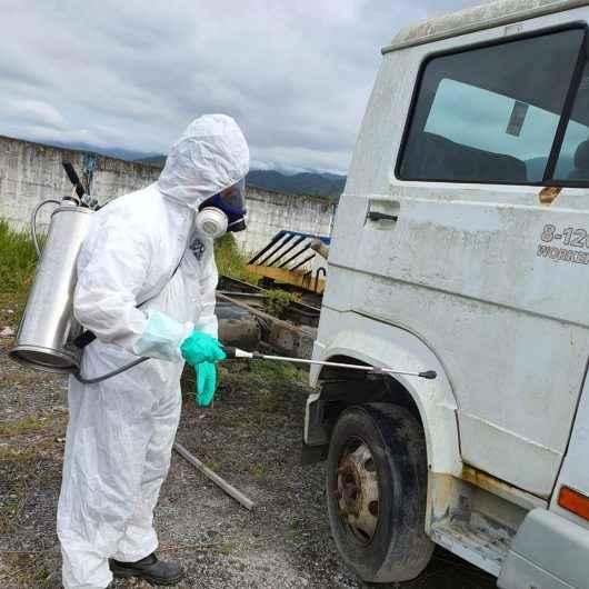 Caraguatatuba continua combate à dengue com aplicação de inseticida