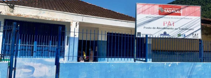 PAT de Caraguatatuba tem 116 vagas abertas e mais de 80% aguardam preenchimento há dois meses