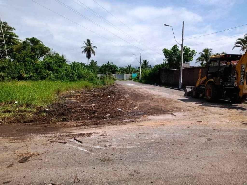 #PraCegoVer: Terreno limpo após passagem da Sesep   (Foto: Divulgação/PMC)