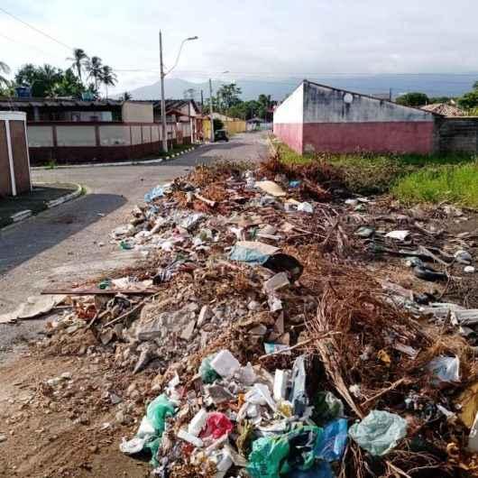 Prefeitura recolhe 30 toneladas de resíduos descartados irregularmente no Barranco Alto