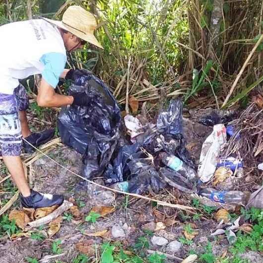 Prefeitura de Caraguatatuba recolhe mais de 1,1 tonelada de resíduos descartados em praias e costeiras