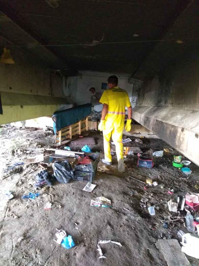 Prefeitura de Caraguatatuba, Casa do Caminho e PM realizam abordagem à população adulta de rua