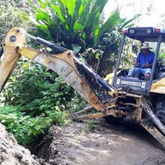 Prefeitura de Caraguatatuba recupera margens da Estrada do Rio Claro