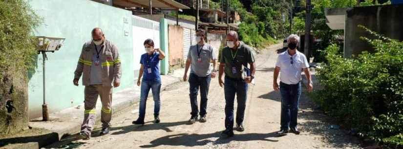 Prefeitura de Caraguatatuba e EDP avaliam regularização de energia no bairro Jardim Santa Rosa