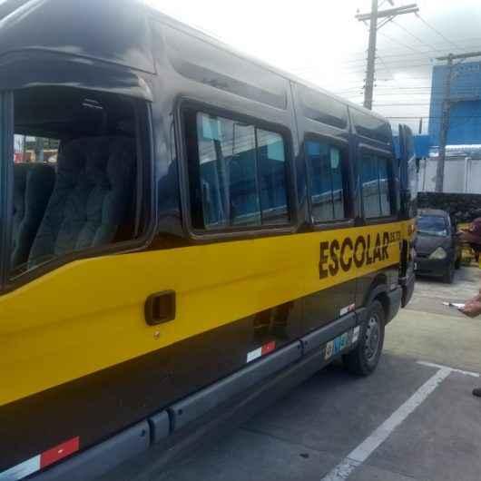 Prefeitura de Caraguatatuba fiscaliza transporte escolar e prática de protocolos sanitários