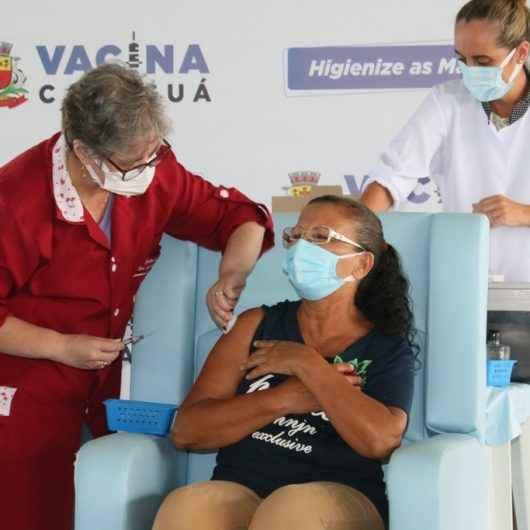 Caraguatatuba continua vacinação contra Covid-19 para profissionais de saúde conforme protocolo Ministerial e disponibilidade de doses