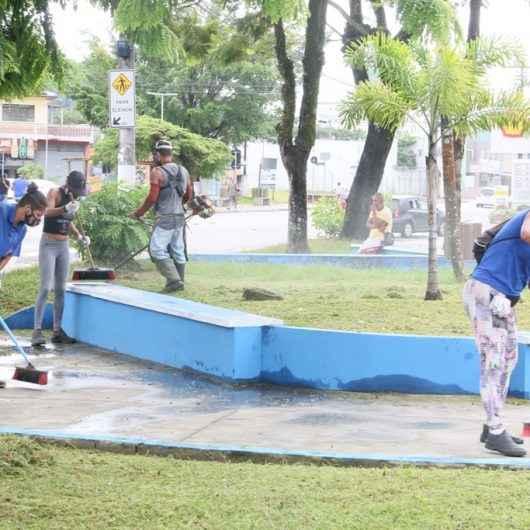 Prefeitura de Caraguatatuba convoca mais 50 bolsistas do PEAD para atuar na limpeza do município
