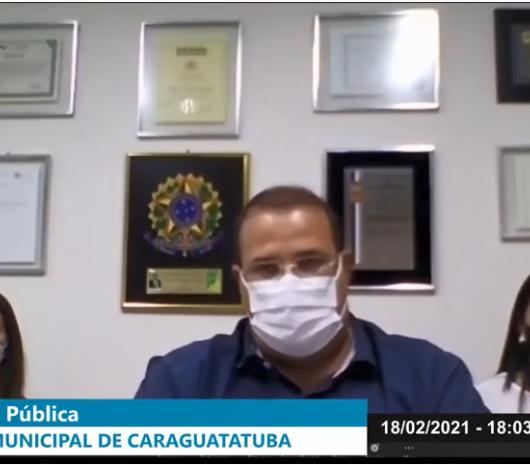 Câmara encerra audiências públicas online da alíquota do CaraguaPrev nesta sexta-feira (19)