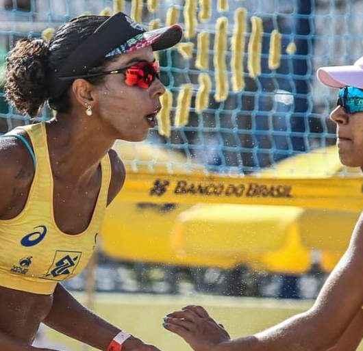 Três atletas do vôlei de praia de Caraguatatuba estão entre as melhores duplas brasileiras