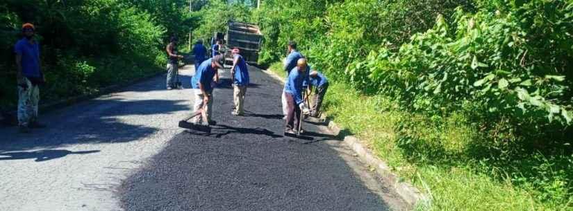 Prefeitura de Caraguatatuba realiza serviços de manutenção por toda cidade