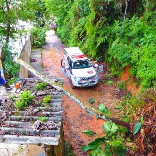 Com possibilidade de chuvas fortes, Plano Preventivo da Defesa Civil é prorrogado até 15 de abril