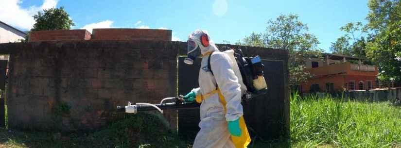 Prefeitura de Caraguatatuba continua com ações contra dengue nos bairros Perequê e Martim de Sá