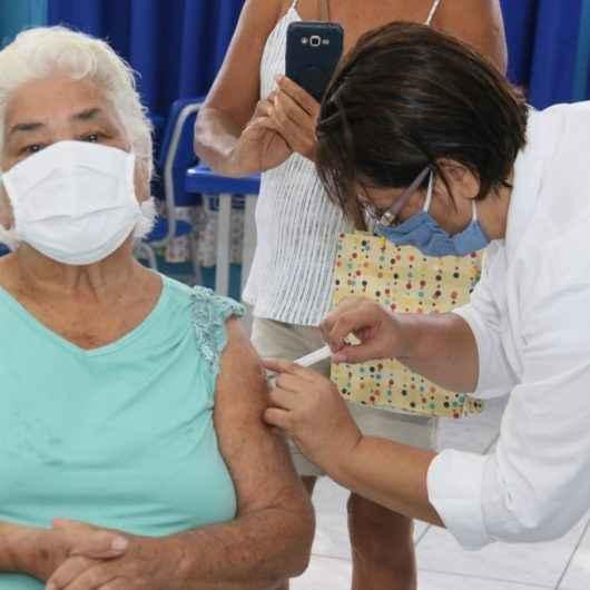 Vacinação contra Covid-19 para idosos entre 77 e 84 anos é interrompida; cidade aguarda nova remessa de doses