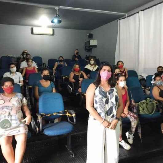 Fundo Social de Caraguatatuba inicia ciclo de palestras para gestantes