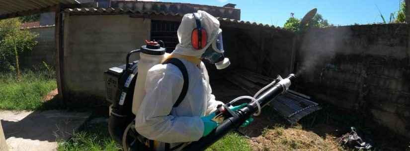 Secretaria de Saúde de Caraguatatuba inicia nebulização contra dengue no Poiares