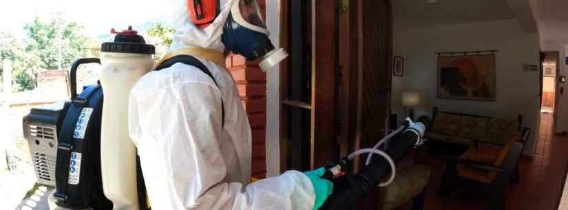 Prefeitura realiza bloqueio mecânico contra dengue na Martim de Sá