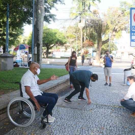 Prefeitura de Caraguatatuba avalia acessibilidade na região central