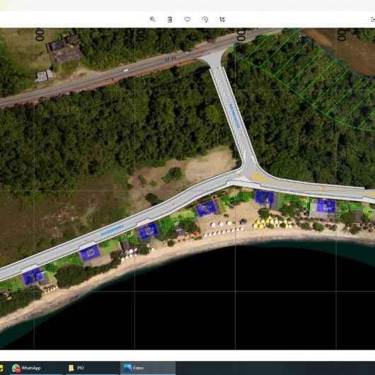 Praia da Mococa é a primeira do Litoral Norte com projeto de urbanização da orla aprovado pela União