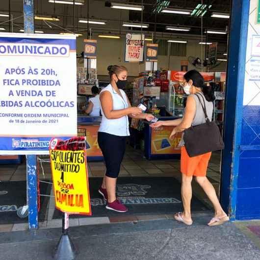 Após novo decreto, Prefeitura de Caraguatatuba reforça orientações para funcionamento de comércios não essenciais