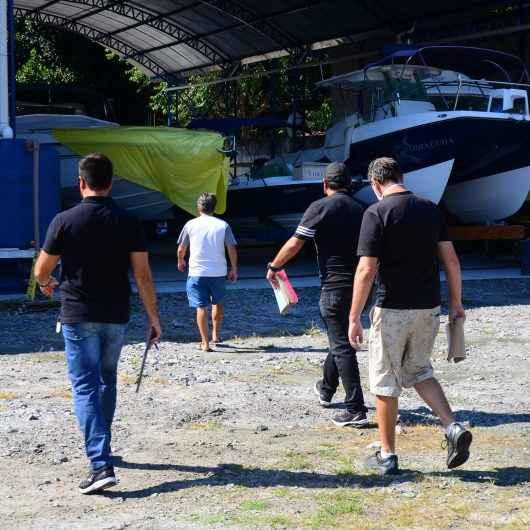 Prefeitura de Caraguatatuba intensifica fiscalização nas marinas e garagens náuticas