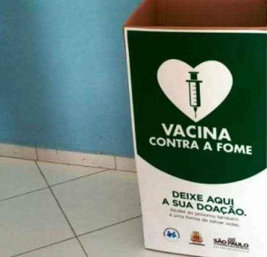 Campanha 'Vacina contra a Fome' de arrecadação de alimentos continua em Caraguatatuba