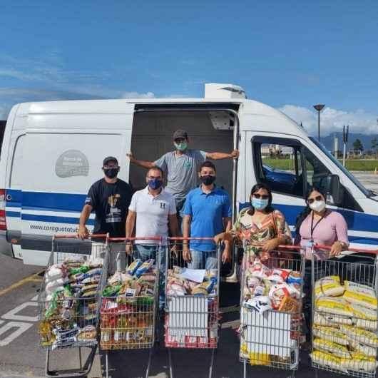 Banco de Alimentos recebe mais de 300 Kg de alimentos do Extra
