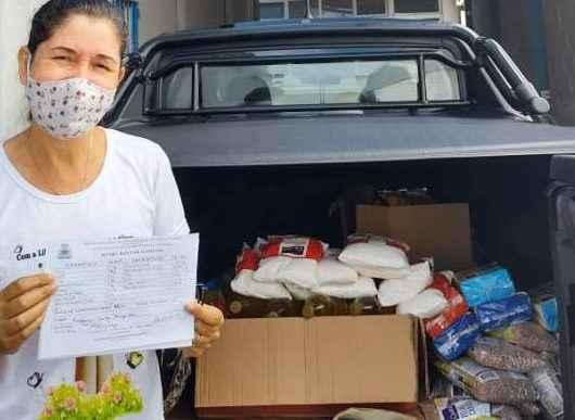 Banco de Alimentos de Caraguatatuba doa cerca de 350 kg de alimentos para instituições sociais