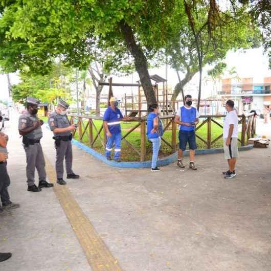 Prefeitura de Caraguatatuba realiza operação de abordagem às pessoas em situação de rua