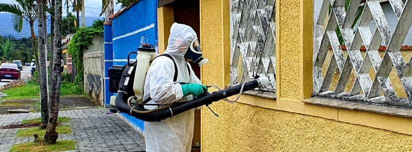 Prefeitura de Caraguatatuba continua com ações de combate à dengue no Massaguaçu