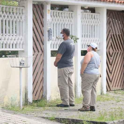 Agentes do CCZ de Caraguatatuba realizam, neste final de semana, avaliação para indicar nível de infestação de dengue