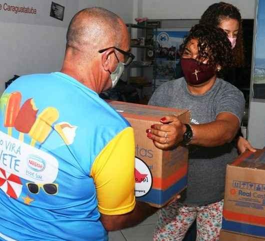 Fundo Social de Caraguatatuba já entregou mais de 600 kits de alimentação e cadastro continua