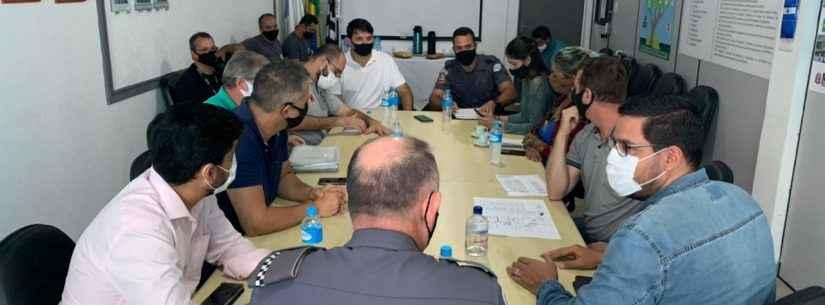 Prefeito de Caraguatatuba inicia preparativos para construção da sede da Força Tática da PM no município