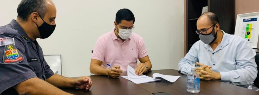 Prefeitura de Caraguatatuba renova contrato da Atividade Delegada da Polícia Militar