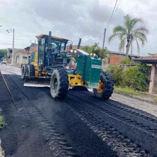 Prefeitura de Caraguatatuba realiza melhorias na região sul da cidade