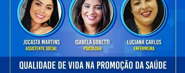Ciapi de Caraguatatuba promove live sobre Qualidade de vida na promoção da saúde