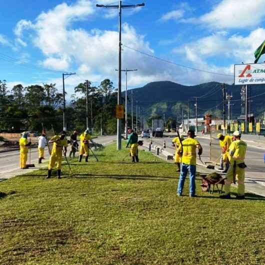 Região Sul de Caraguatatuba recebe diversos serviços de manutenção