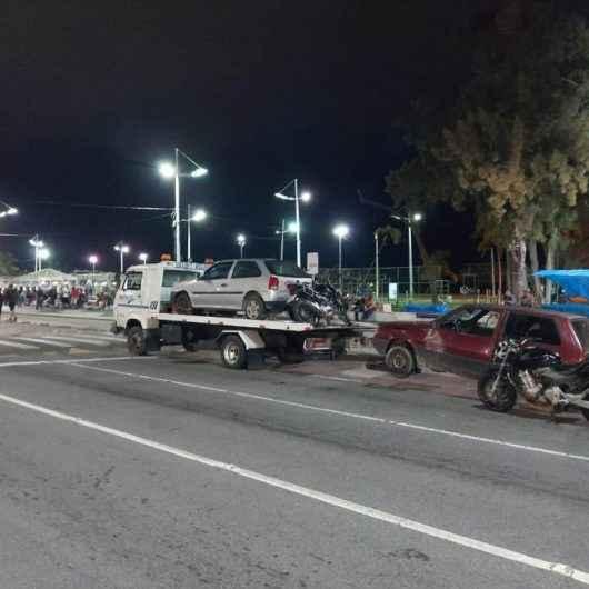 Força-tarefa de Caraguatatuba reforça fiscalização no fim de semana contra fluxos e rolezinhos e aborda quase 700 pessoas