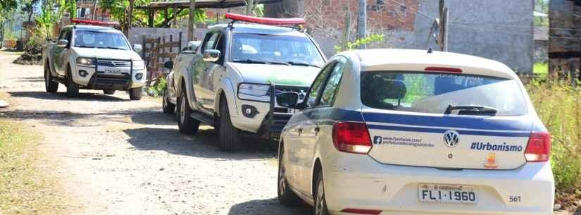 Prefeitura de Caraguatatuba e Polícia Ambiental impedem invasão de área na região