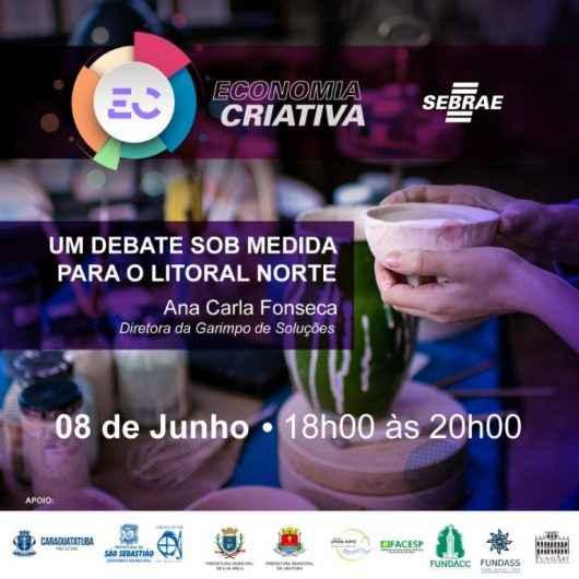Inscrições abertas para workshop 'Economia Criativa e Desenvolvimento Territorial - Um debate sob medida para o Litoral Norte'