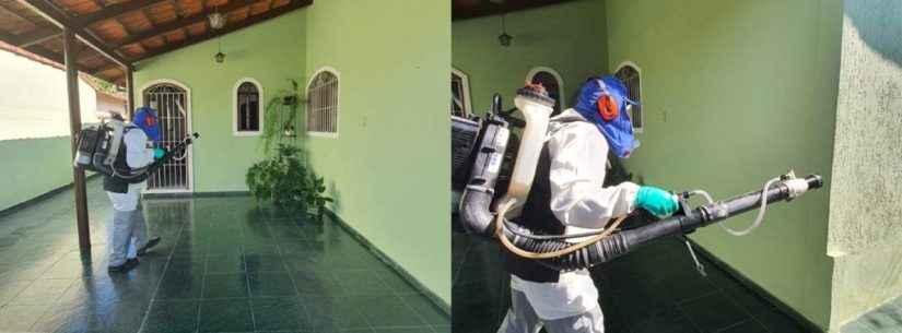 Bairros de Caraguatatuba recebem ações de combate à dengue