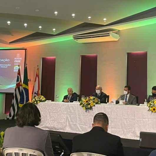Caraguatatuba participa de evento do Ministério da Educação voltado à políticas educacionais
